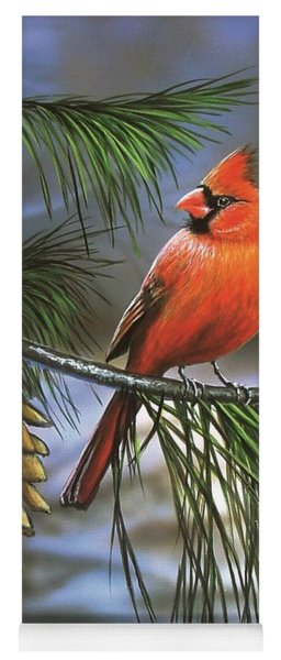 On Watch - Cardinal Yoga Mat