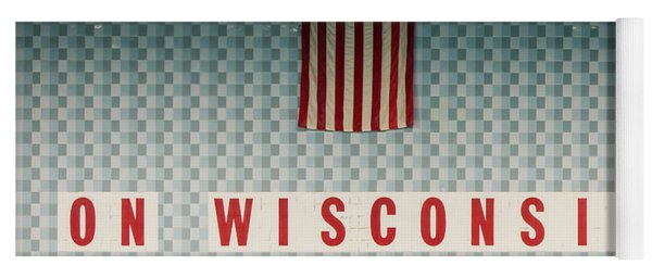 On Wisconsin  Yoga Mat