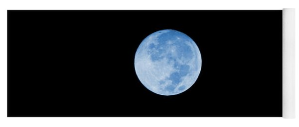 Once In A Blue Moon Yoga Mat