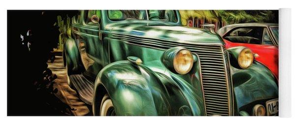 One Cool 1937 Studebaker Sedan Yoga Mat