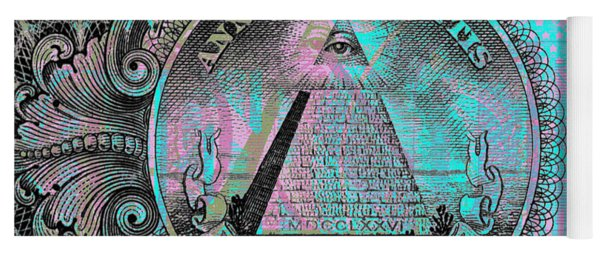 One-dollar-bill - $1 - Reverse Side Yoga Mat