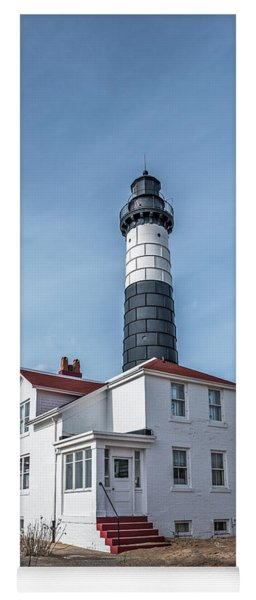 One Hundred Twelve Foot Lighthouse Tower Yoga Mat