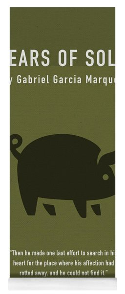 One Hundred Years Of Solitude Greatest Books Ever Series 012 Yoga Mat