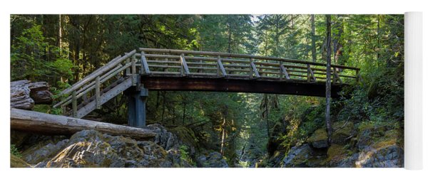 Opal Creek Bridge Yoga Mat