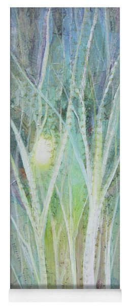 Opalescent Twilight I Yoga Mat