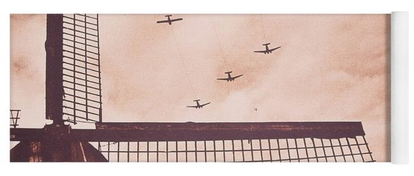 Operation Market Garden   Battle Of Arnhem Yoga Mat