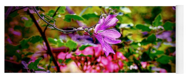 Opulent Lily Yoga Mat