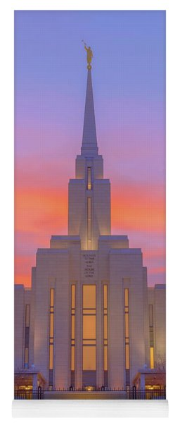 Oquirrh Mountain Temple IIi Yoga Mat