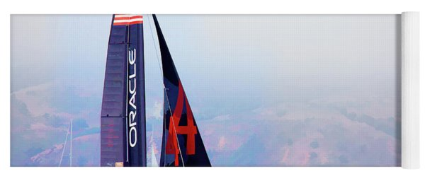 Oracles Usa  America's Cup Paint  Yoga Mat