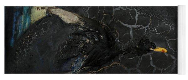Oracular Inquiry - Ecological Footprint - Drilling Permits - Crude Oil Offshore Energy - Das Orakel Yoga Mat