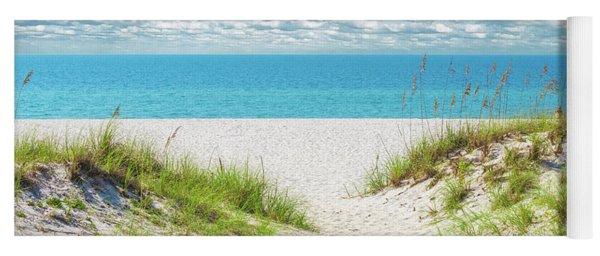 Orange Beach Al Seascape 1086a Yoga Mat