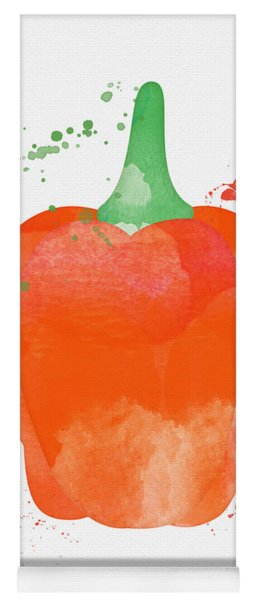 Orange Bell Pepper  Yoga Mat