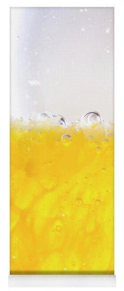 Orange Cocktail Glass Yoga Mat