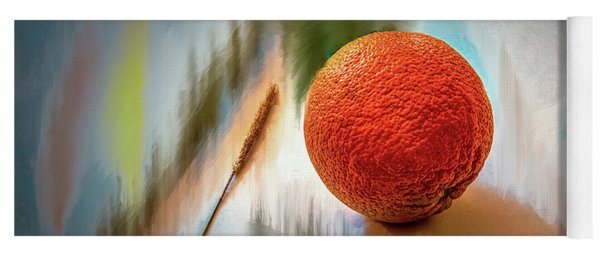 Orange #g4 Yoga Mat