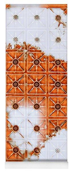 Orange Scented Bleach Yoga Mat