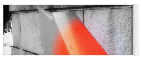 Orange Tipped Arrow Yoga Mat