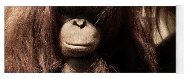 Orangutan Pose Yoga Mat
