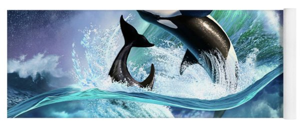 Orca Wave Yoga Mat