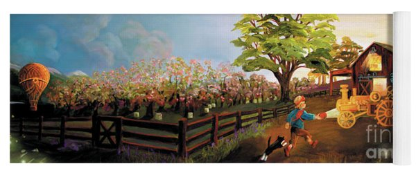 Orchard And Barn Yoga Mat