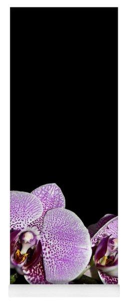 Orchid Blooms Yoga Mat