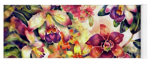 Orchid Garden II Yoga Mat