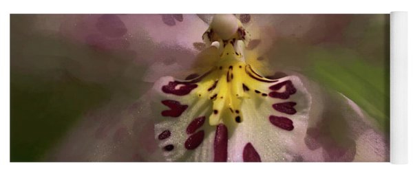Yoga Mat featuring the photograph Orchid Mysterious by Richard Goldman
