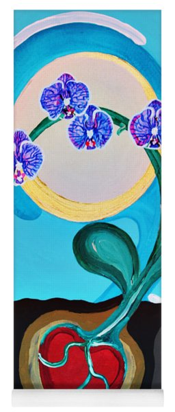 Orchids For My Love Yoga Mat