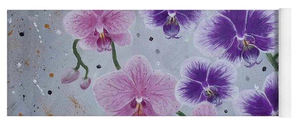 Orchids Galore Yoga Mat
