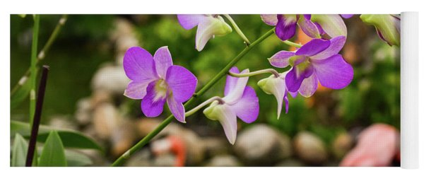 Orchids In Paradise Yoga Mat
