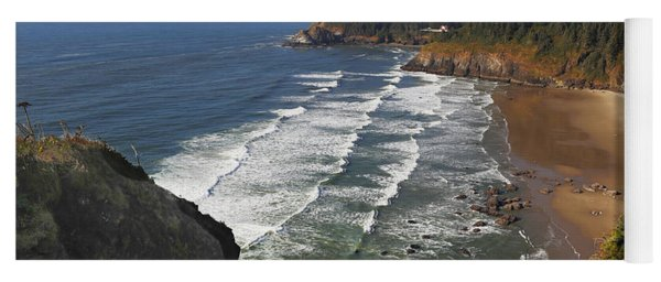 Oregon Coast No 1 Yoga Mat