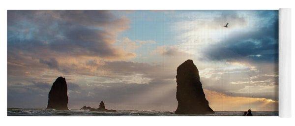Oregon Coastine Yoga Mat