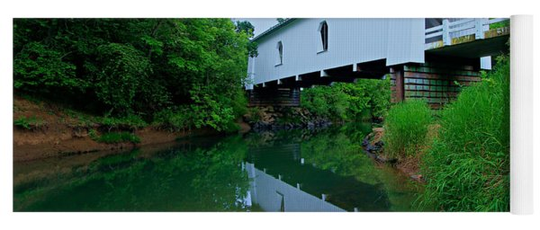 Oregon Covered Bridge Yoga Mat