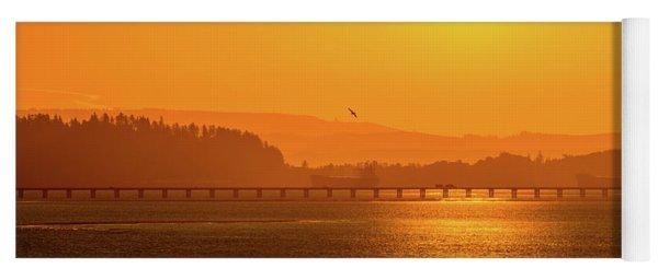 Oregon Sunrise Yoga Mat