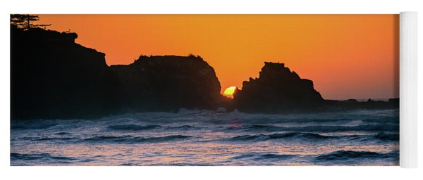 Oregon Sunset Yoga Mat