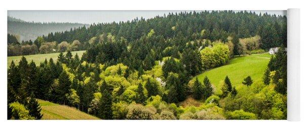 Oregon Wine Country Yoga Mat
