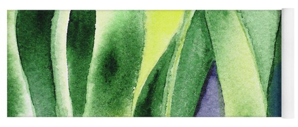 Organic Abstract By Nature I Yoga Mat