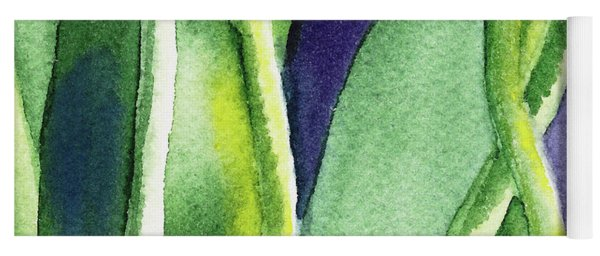 Organic Abstract By Nature II Yoga Mat