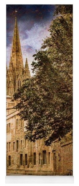 Oxford, England - Oriel Street Yoga Mat