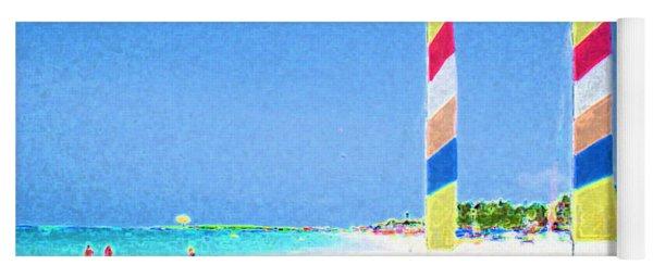 Orient Beach St. Martin Yoga Mat
