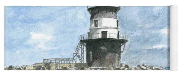 Orient Point Lighthouse Yoga Mat