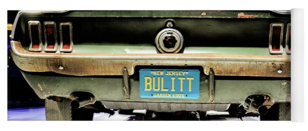 Original Bulitt Mustang Yoga Mat