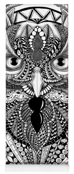 Ornate Owl Yoga Mat
