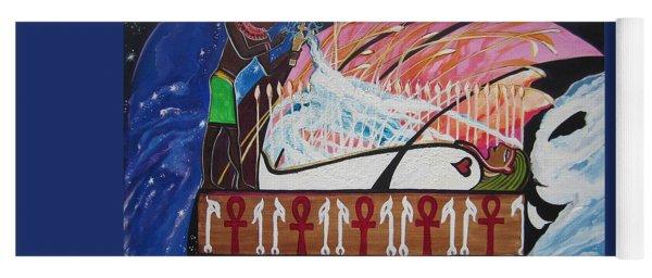 Osiris - Nepra By Blaa Kattproduksjoner  Yoga Mat
