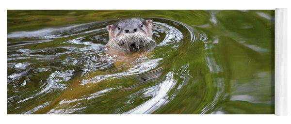 Otter In The Wotter Yoga Mat