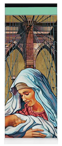 Our Lady Of Brooklyn Yoga Mat