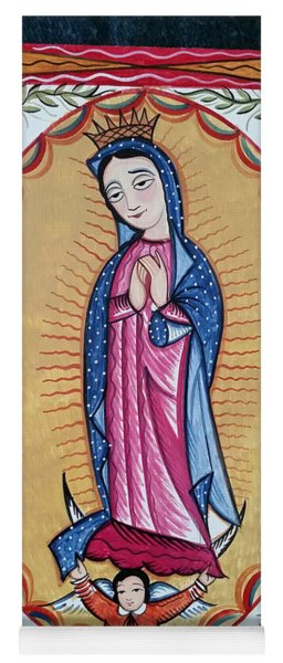 Our Lady Of Guadalupe - Aogad Yoga Mat