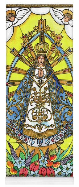 Our Lady Of Lujan Yoga Mat