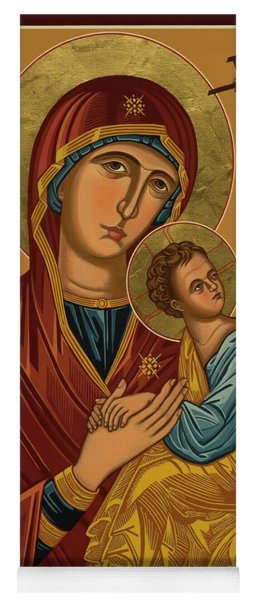 Our Lady Of Perpetual Help - Virgin Of Passion - Jcpph Yoga Mat