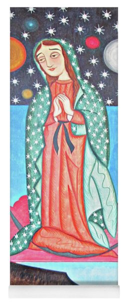 Our Lady Of The Cosmos - Aocso Yoga Mat