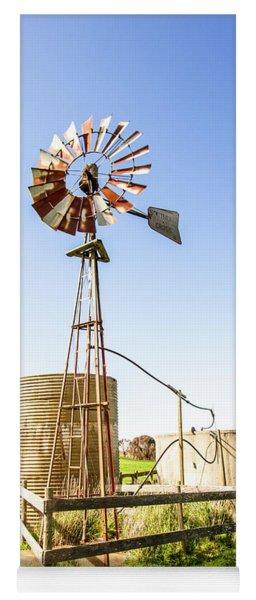 Outback Australian Farm Mill Yoga Mat
